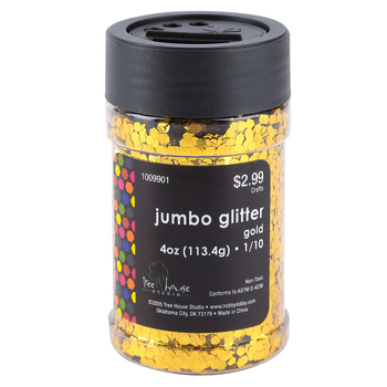 Tree House Studio, Jumbo Glitter, 1/10, Multiple Colors Available