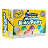 Crayola, Washable Kids' Metallic Paint, Assorted Colors, 6 Count