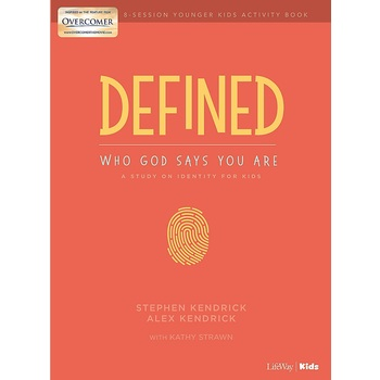 Defined: Younger Kids Activity Book, by Stephen Kendrick, Alex Kendrick, and Kathy Strawn, Paperback
