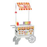 Melissa & Doug, Snacks & Sweets Food Cart, 49 x 25 1/2 x 13 1/2 inches