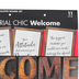 Schoolgirl Style, Industrial Chic Welcome Bulletin Board Set, 11 Pieces