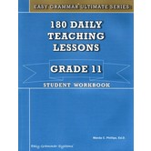 Easy Grammar Ultimate Series180 Daily Teaching Lessons Grade 11 Student