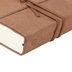 ESV Single Column Journaling Bible, Large Print, Leather with Strap, Brown