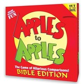 Cactus Games, Apples To Apples: Bible Edition, Ages 8 Years and Older, 4 to 10 players