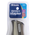 Bazic Products, Compact Stand Up Standard Stapler, Multiple Colors, 4 3/4 x 2 1/2 inches