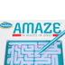 ThinkFun, Amaze: 16 Mazes In One!, 1 Player, Ages 8 and Older