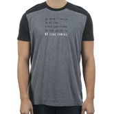 NOTW, Be Like Christ, Men's Short Sleeve T-shirt, Gray and Black, S-2XL