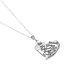 Spirit & Truth, Psalm 147:3, He Healeth the Broken Tree Heart, Women's Necklace, Stainless Steel, 18 Inches