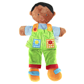 The Puppet Company, Dark Skin Boy Puppet, 15 inches