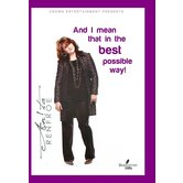 And I Mean That In The Best Possible Way, by Anita Renfroe, DVD