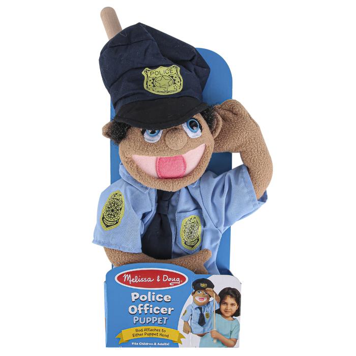 1 Piece Toys Melissa /& Doug Police Officer Puppet