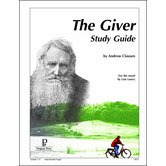 Progeny Press, The Giver Student Study Guide, Paperback, 69 Pages, Grades 7-9