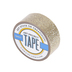 Gold Glitter Art Project Mini Washi Tape, 3/4 inches x 5 yards, 1 Roll