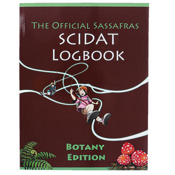 The Official Sassafras SCIDAT Logbook Botany Edition, Paperback, Grades K-5
