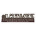Dickson's Gifts, Jeremiah 29:11 Figurine, Resin, Brown, 7 1/2 x 2 Inches