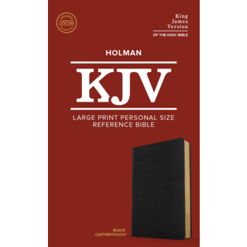KJV Personal Size Reference Bible, Large Print, Imitation Leather, Multiple Colors Available