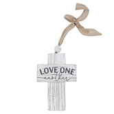 P. Graham Dunn, Love One Another Cross, 4 3/4 x 7 inches