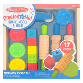 Melissa & Doug, Created By Me Shape, Model, Mold Modeling Dough Kit, 49 Pieces, Grades PreK-6