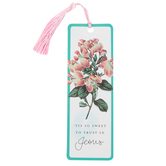Salt & Light, 'Tis So Sweet To Trust In Jesus Tassel Bookmark, 2 1/4 x 7 inches