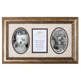 James Lawrence, 50th Anniversary 1 Corinthians 13 Double Photo Frame, 17 x 10 inches