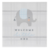 Brother Sister Design Studio, Welcome Little One Small Napkins, 4 7/8 x 4 7/8 Inches, Pack of 25