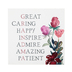 Collins Painting & Design, Grandma Floral Box Sign, 7 inches