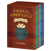 Pre-buy, The Secret of the Hidden Scrolls: The Complete Series, by M. J. Thomas, Boxed Set