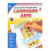 Carson-Dellosa, Interactive Notebooks Language Arts Resource Book, Reproducible Paperback, Grade 2