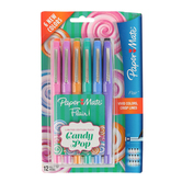 Paper Mate, Flair Candy Pop Felt-Tip Markers, Medium Point, Assorted Colors, Pack of 12
