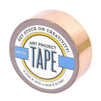Rose Gold Metallic Art Project Mini Washi Tape, 3/4 inches x 5 yards, 1 Roll