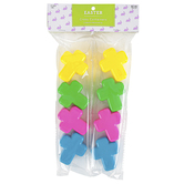 Brother Sister Design Studio, Cross Easter Eggs, Plastic, Assorted Colors, 8 Pieces