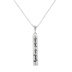 Spirit & Truth, Joshua 24:15, Love God Love Family Bar, Women's Necklace, Stainless Steel, 18 Inches