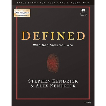 Defined: Bible Study Kit for Teen Guys & Young Men, by Stephen Kendrick & Alex Kendrick, Kit