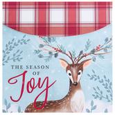 Renewing Faith, 2 Corinthians 9:15 The Season of Joy Notepad, 4 x 4 inches, 75 Sheets