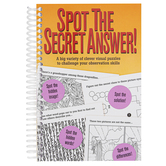Product Concept Manufacturing, Spot the Secret Answer Activity Book, 9 x 11 Inches, 48 Pages