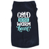 Paws & Praise, Cold Nose Warm Heart, Dog T-Shirt, Navy, Large