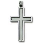 Cross In Cross Pendant Necklace