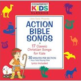 Action Bible Songs: 17 Classic Christian Songs for Kids, by Cedarmont Kids, CD