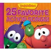 25 Favorite Action Songs, by VeggieTales, CD