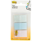 3M, Printed Post-it Flags, Gradient Pastel Colors, .97 x 1.7 inches, 20 Each of 3 Designs