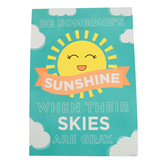 Renewing Minds, Be Someone's Sunshine When Motivational Poster, 13.25 x 19 Inches, 1 Piece