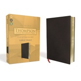 KJV Thompson Chain-Reference Bible, Large Print, Bonded Leather, Black