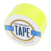 Neon Chartreuse Art Project Tape, 1 7/8 inches x 15 yards, 1 Roll