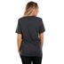 NOTW, She Is Fearless, Women's Short Sleeve T-Shirt, Dark Grey Heather, X-Small