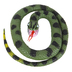 Wild Republic, Rock Python Snake Toy, Rubber, 26 inches