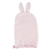 Stephen Joseph, Bunny Baby Bath Mitt, Cotton, Pink, 5 1/2 x 8 inches