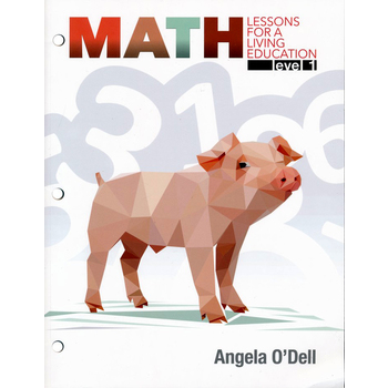Master Books, Math Lessons for a Living Education Level 1, Paperback, 344 Pages, Grade 1