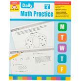 Evan-Moor, Daily Math Practice Teacher's Edition, Paperback, 128 Pages, Grade 4