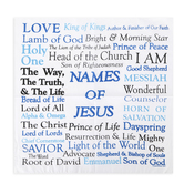 Swanson, Names of God Prayer Cloth, Cotton, 17 x 17 inches
