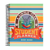 A Simple Plan, Homeschool Student Planner 2021-2022, Camping Is Fun, Spiral, 1 Each